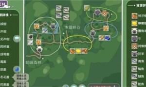 小森生活香脂拓木树在哪个位置(树木位置介绍)