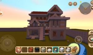 迷你世界建房子设计图简单(教你大别墅的建造方法)