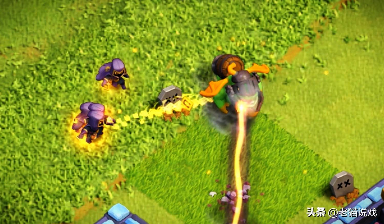 """部落冲突:已经有玩家测出""""英雄猎手""""的强度了,还是扛不住法术"""