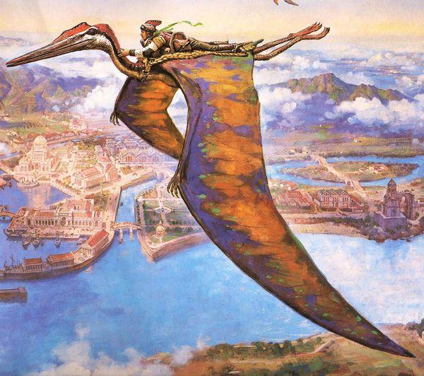 号称永不落地,怎么驯服《方舟:生存进化》手游的风神翼龙?