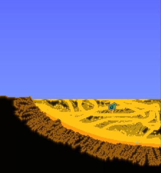泰拉瑞亚1.4彩蛋地图,满世界蜂巢