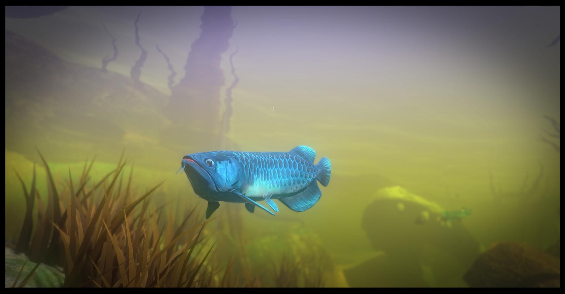 小鱼也变大白鲨!海底冒险游戏《海底大猎杀》PC配置公开