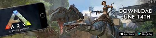 生存沙盒大作《方舟:生存进化》手游国际版双平台提前上架
