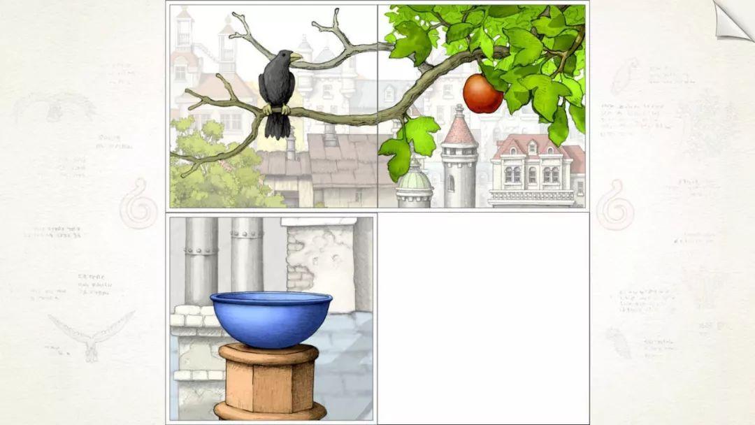「游戏推荐」华丽的手绘解谜——《画中世界(Gorogoa)》