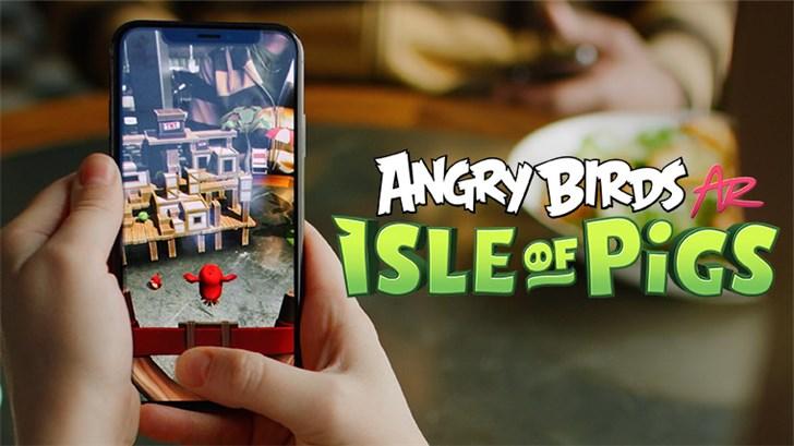 弹爆猪猪,《愤怒的小鸟AR》iOS版免费下载