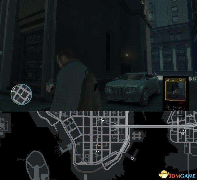侠盗猎车4偷车任务攻略 GTA4偷车任务车辆位置图览