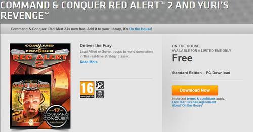 满满的回忆 《红色警戒2》免费下载